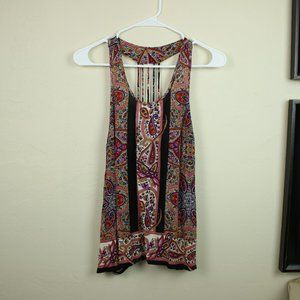 Patrons of Peace Pattern Tank Top Paisley …